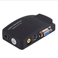 Конвертер AV S-Video RCA to VGA , фото 1