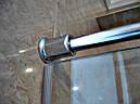 Душевая кабина 180 градусов с распашной дверью на стекле, фото 4