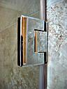 Душевая кабина 180 градусов с распашной дверью на стекле, фото 5