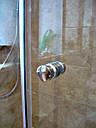 Душевая кабина 180 градусов с распашной дверью на стекле, фото 6