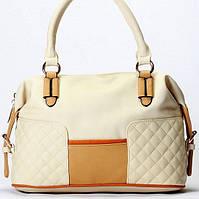 Женская сумка Giorgio Ferrilli  бежевая, фото 1
