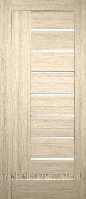 Дверное полотно Фелиция ПВХ (стекло сатин)