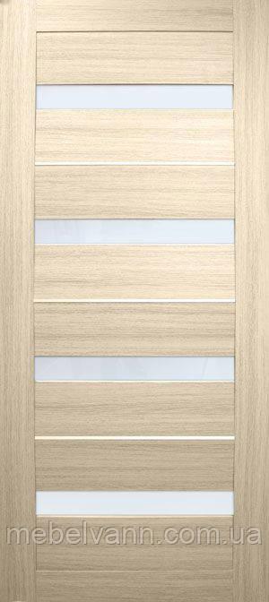 Дверное полотно Милано ПВХ (стекло сатин)
