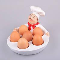 """Блюдо для яиц """"Шеф-повар"""" 24Х18Х14.5 см ed10-134"""