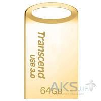 Флешка Transcend 64GB JetFlash 710 Metal Gold USB 3.0 (TS64GJF710G)