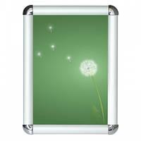 Рамка алюминиевая А0 формат 25 клик-система (с закругленными углами), фото 1
