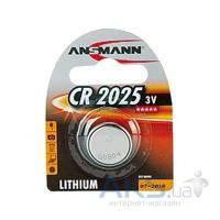 Батарейки Ansmann CR2025 (5020142) 1 шт.