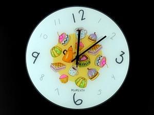 """Часы настенные из стекла Сладости  - IZUM Market: """"Подарки с изюмом!"""" в Одессе"""