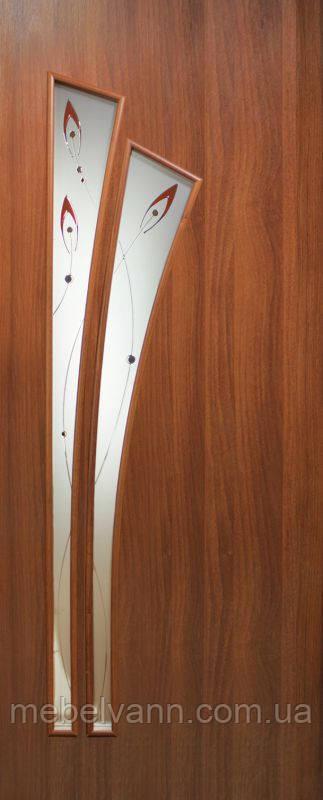Дверное полотно Пальма ПВХ КР