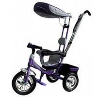 Велосипед детский Mars Mini Trike LT950 air фиолетовый