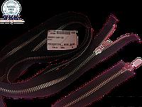 Молния метал YKK 130cm 580 черная 2бегунка №5DA8P