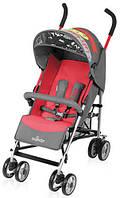 Коляска детская Baby Design Trip-02 2014, прогулочная, красная коляска