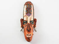Маска декоративная этническая афро Дзинг