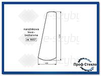 Стекло экскаватор-погрузчик JCB 3CX kabina P8 (монтируется на стеклянных пломб)-левый угол 827/20217