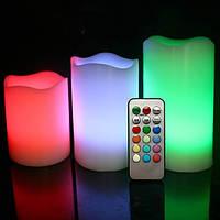 Электронные свечи Luma Candle пластиковые с пультом управления набор