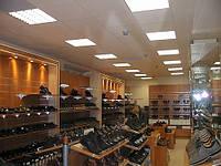 Стеллаж для магазина обуви. Стеллажи для бутика. Торговое оборудование для обуви, фото 1