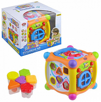 """Развивающая игрушка сортер """"Волшебный куб"""" Play Smart 7373, фото 1"""