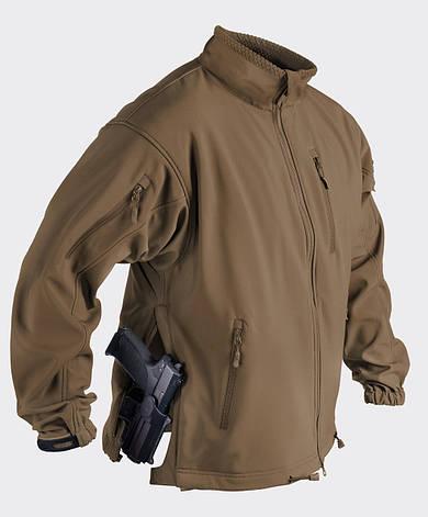 Куртка JACKAL QSA™ - Shark Skin - койот, фото 2