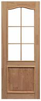 Двери межкомнатные шпонированные «Классик», с ламелью, без стекла