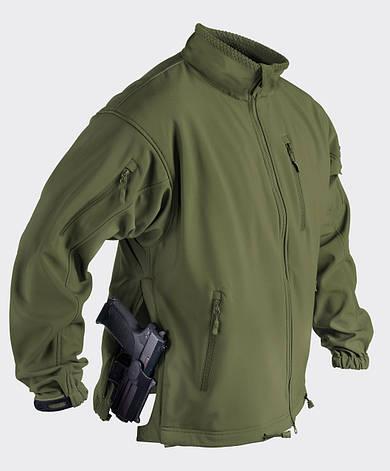 Куртка JACKAL QSA™ - Shark Skin - олива, фото 2