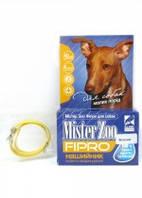 Ошейник Мистер Зоо фипро для собак маленьких пород 40 см