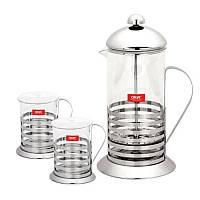 Заварочный чайник с чашками