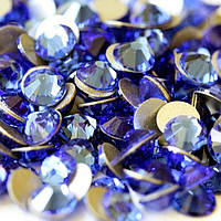 Сапфировый | Sapphire  Стразы Имитация Swarovski (Размер 3ss; Тип_нанесения Клей Е6000)