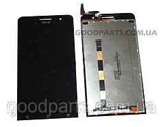 Дисплей с тачскрином для ASUS ZenFone 6 черный