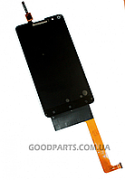 Дисплей с тачскрином для Lenovo S898 S8 черный (Оригинал)