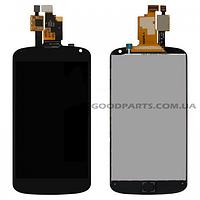 Дисплей с тачскрином для LG E960 Nexus 4 черный high copy