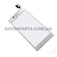Сенсорный экран (тачскрин) для Sony D2305, D2302, D2303, D2306 S50h Xperia M2 белый (Оригинал)