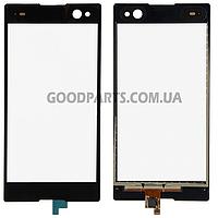 Сенсорный экран (тачскрин) для Sony D2502 Xperia C3 Dual черный