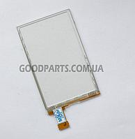 Сенсорный экран (тачскрин) для Sony Ericsson CK15 черный (Оригинал)