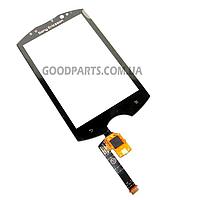 Сенсорный экран (тачскрин) для Sony Ericsson WT19i черный (Оригинал)
