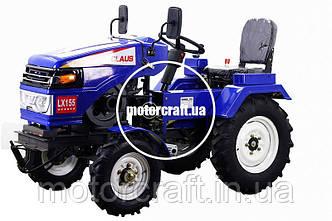 Мототрактор CLAUS LX155F + Почвофреза 120 см.
