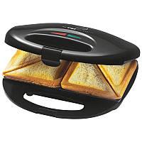 Сэндвичница-бутербродница Clatronic ST 3477 black Германия!, фото 1
