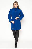 Пальто женское демисезонное с рукавом летучая мышь АЛ45Э
