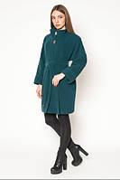 Пальто стильное демисезонное с рукавом летучая мышь АЛ45Бт