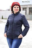 Модна куртка із стьобаного купоном плащової тканини 44-50 розміри, фото 1