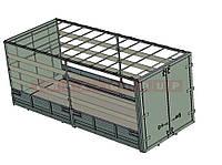 Борт-тент со сдвижной крышей, фото 1