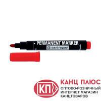 Centropen Маркер перманентный 2,5 мм. Цвета - черный, зеленый, красный, синий. арт. 8566