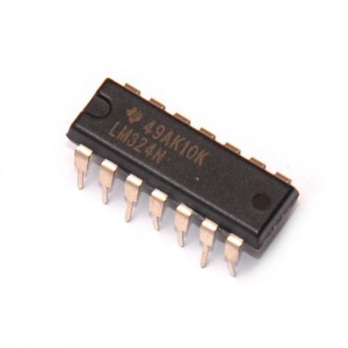 Микросхема LM324N DIP14