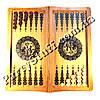 Нарды и шахматы деревянные подарочные, размер 62х32 см