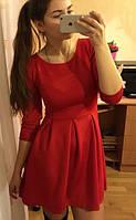 Платье с рукавом фонарик, фото 1
