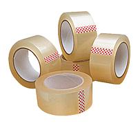 Скотч упаковочный прозрачный (45 мм х 500 м)