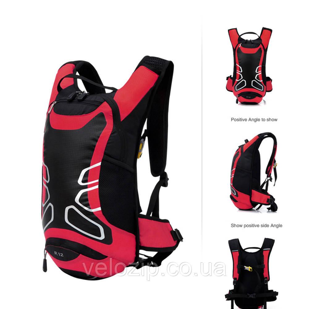 c3e4fb8bcf83 Вело рюкзак 12 литров с отсеком для гидратора. Клон Shimano Rokko -  Интернет-магазин