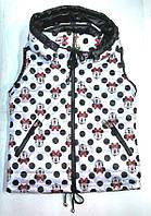 Жилетка Mikki, для девочек от 5 до 8 лет