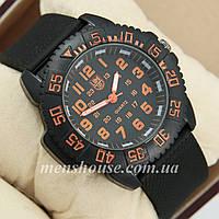 Бюджетные часы Luminox 3051 Black/Orange