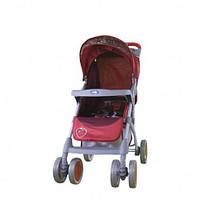 Прогулочная коляска Bambini KING ЧЕХОЛ,red strawberry, компактная