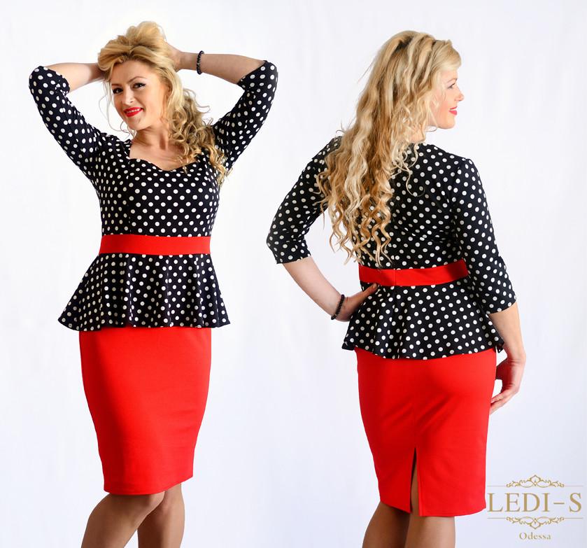 Женское платье  баска (44-58) 8100